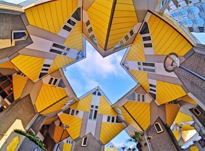 水辺の美しい景色を求めてオランダ&ベルギーへ <8> ユニークな建築がいっぱいのロッテルダムへ♪
