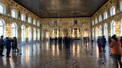 2019年5月 還暦夫婦ロシアへ行く 2日め 血の上の救世主教会~エカテリーナ宮殿