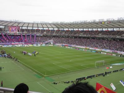 2019年4月14日:味の素スタジアム「FC東京 vs 鹿島アントラーズ」観戦