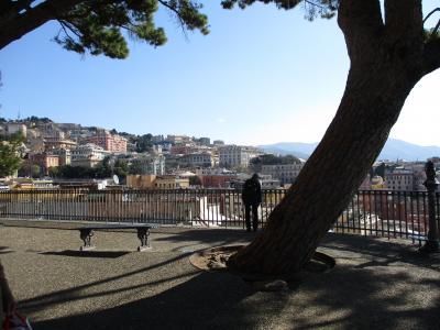 2019年 ウンブリア、トスカーナの小さな街と北イタリア ⑫ジェノヴァ二日目 二つの展望台