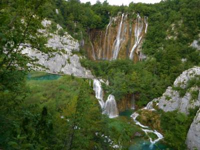2018年6月 東欧8日目 プリトヴィツェ 下の湖ハイク ヴェリキ滝 ミルカ・トルニナ