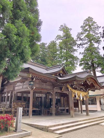 北陸本線小松から松任で予定変更して途中下車その後、石川線で鶴来の白山比咩神社へ~2019年6月