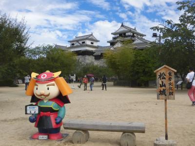 四国現存の城巡り 3 松山城