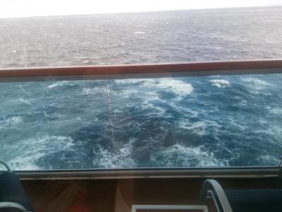 リーガルプリンセスバルト海クルーズ オスロまでノンストップ航海中。