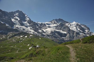 スイス花とハイキングの旅クライネシャイデック