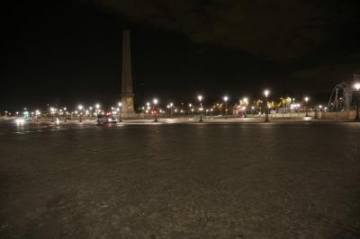 2015年9月26日未明のコンコルド広場