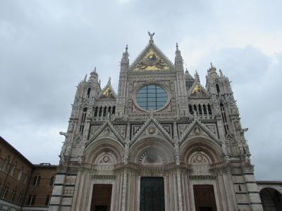 イタリア、チンクエテツレ観光4 シエナ・サンジミ二ャーノ