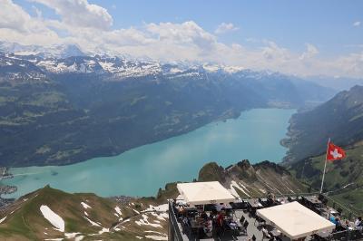 スイス花と絶景の旅① ルツェルンとロートホルン鉄道