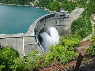 2019 黒部ダムへの旅