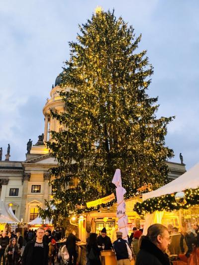 2018年~2019年 ドイツ冬の旅④ ベルリンその1  ジャンダルメンマルクトのクリスマスマーケット