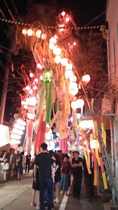 2019年 戸出七夕祭り 夜