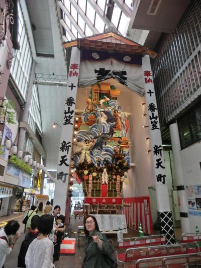 博多の夏は博多祇園山笠たい!たくさん飾り山を見るぞ編