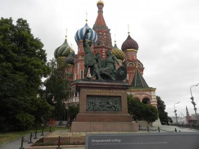 白夜の季節、モスクワを彷徨って。