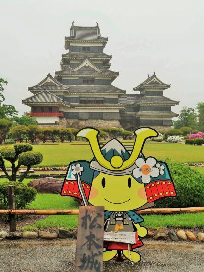 信州令和16 松本城c 外観(大手門→天守入口)☆朝一番/雨降りで人少なく