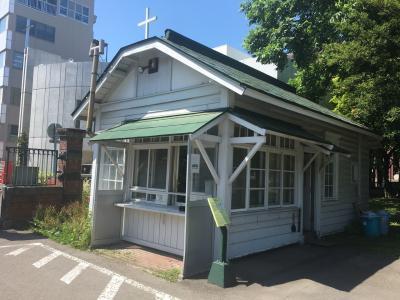 ♪ガマンだ、待っていろ~。コロナが過ぎりゃ~。やがてクルクル春が来る~。の札幌の去年…。