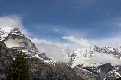スイス 花と絶景の旅 ③フィルストとシルトホルン