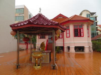 シンガポール 「行った所・見た所」 カトンのホテル81サクラに宿泊して周辺を散策