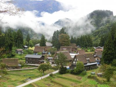 世界遺産巡り(3日目)五箇山(相倉・菅沼)合掌造り集落を散策
