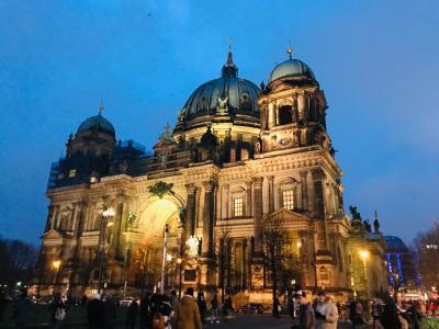 2018年~2019年 ドイツ冬の旅⑥ ベルリンその3 旧国立美術館のフリードリヒと大聖堂