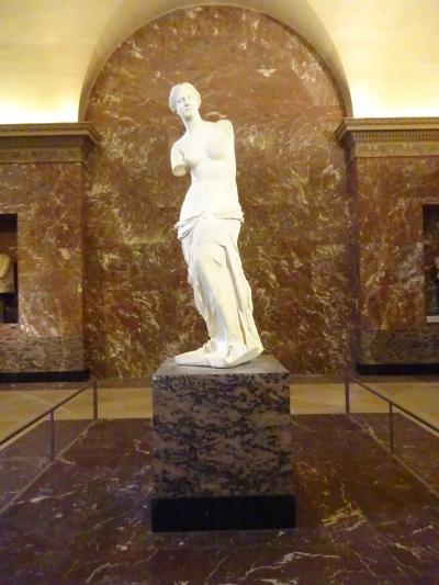 パリで年末年始2018-19⑨ルーブル美術館・凱旋門・オルセー美術館