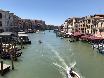 私のベネチア物語3(コッレール博物館、リアルト橋、ゴンドラ)