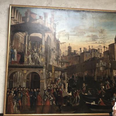 私のベネチア物語4(トラゲット、グッケンハイム美術館、アカデミア美術館)