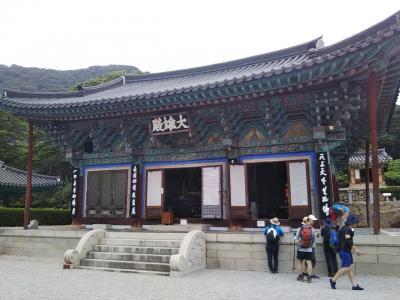 188回目訪韓(2019/7/11木~14日)⑨/⑫去年テンプルステイした大好きな宝鏡寺を1ヶ月ぶりに再訪