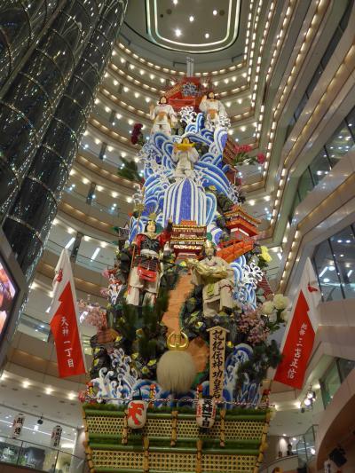 博多祇園山笠がスタートし一週間が経ちました。久々に十四の飾り山笠を全て観て廻りました!! (^0^)!!