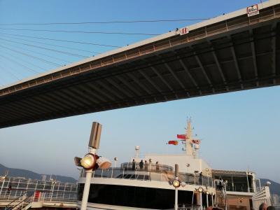 クイーン・エリザベス乗船記(8) 5日目 5/2 釜山入港