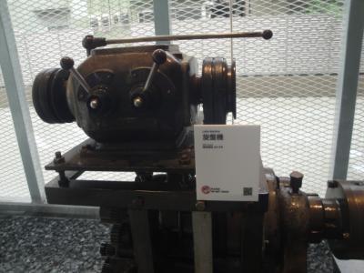 """なぜか ホテルに""""旋盤機械""""展示されている?"""