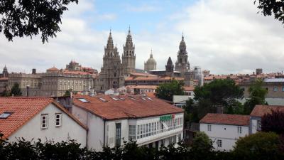 避暑の旅、スペイン・ガリシア地方周遊 (5)  サンティアゴ・デ・コンポステーラ