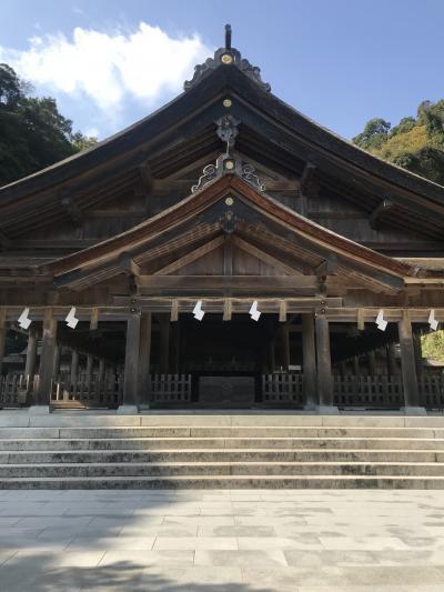 201811島根の神社巡り女子旅 1日目