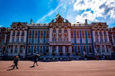 ロシア(9) エカテリーナ宮殿1