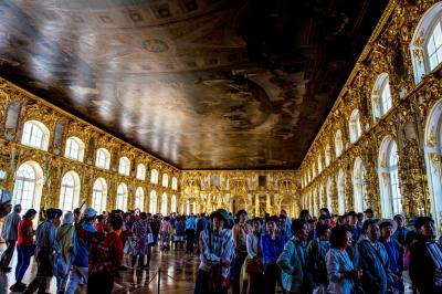 ロシア(10) エカテリーナ宮殿2