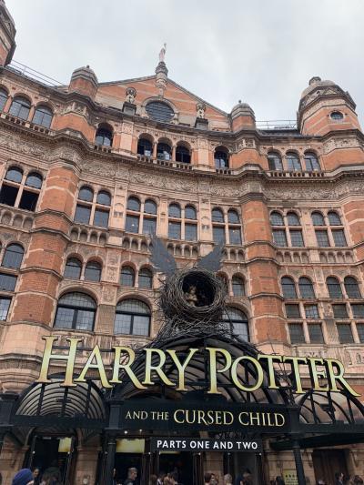ロンドンで ハリーポッターと呪いの子を見て来ました!
