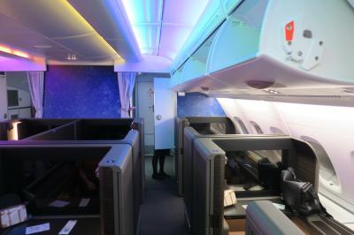 ANA特典エアバスA380フライングホヌのファーストクラスで行くハワイ5日間~往路は1号機でホノルル到着まで♪