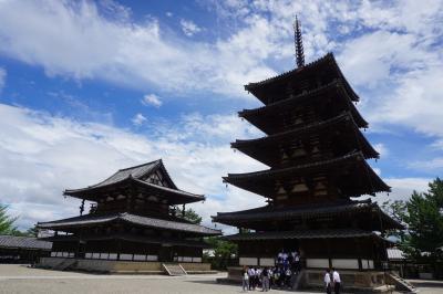 法隆寺から吉野山まで初夏の旅(一日目)~聖徳太子に愛された斑鳩。そして、法隆寺は仏教の発展を願った象徴。一族滅亡の悲しい歴史も秘めています~
