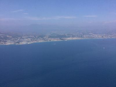 フランスひとり旅12日目~後編~ニース空港から中継地ドバイ空港へ