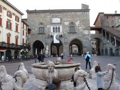 2019年 ウンブリア、トスカーナの小さな街と北イタリア ⑬ベルガモ 一日目