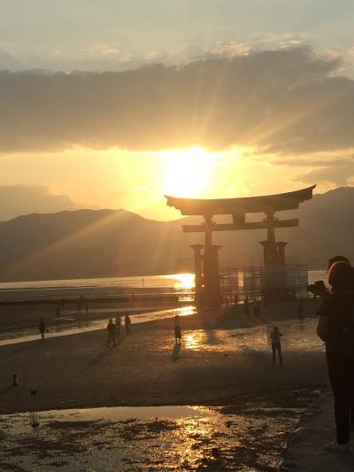 あの世界遺産。宮島 厳島神社で、師匠の能舞台拝見。