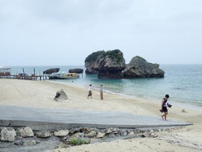 夏!沖縄 新原ビーチに行きました