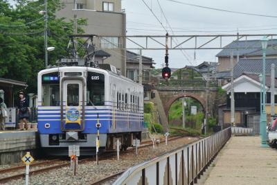 えちぜん鉄道に乗って三国港へ&福井市内観光