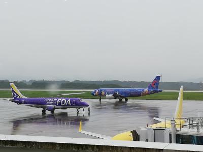 ソウルに行くときに寄った静岡空港