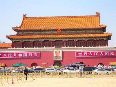 中国 初心者 北京へ行っちゃいました 天安門広場 (9)