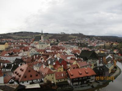 世界遺産の街 チェスキークルムロフ