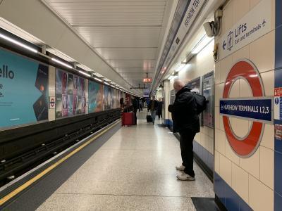 ロンドン、ブリュッセルぼっち旅①ロンドンへ・・・