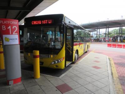 マレーシア 「行った所・見た所」 ジョホールバルのラーキンセントラルバスターミナル周辺散策