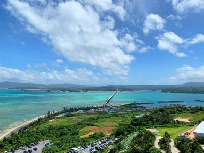 沖縄旅行記~2日目ホテルビーチから古宇利島の絶景!~