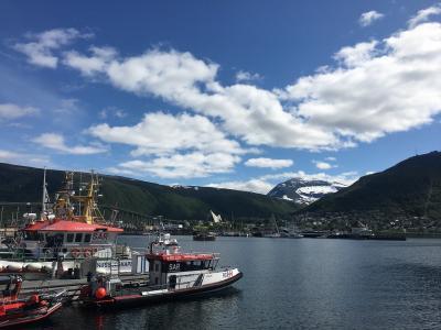 2019世界一周#5ノルウェー~南米から北極圏トロムソ へ飛んで町歩き