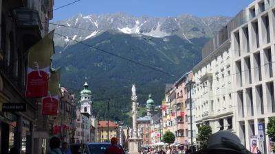 オーストリア  チロルハイキングと街歩き No4 インスブルク市街散策